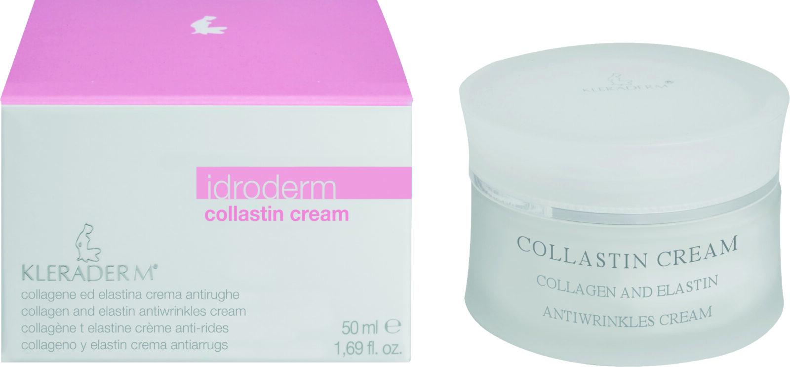Kleraderm Idroderm Collastin Cream Skin Evolution