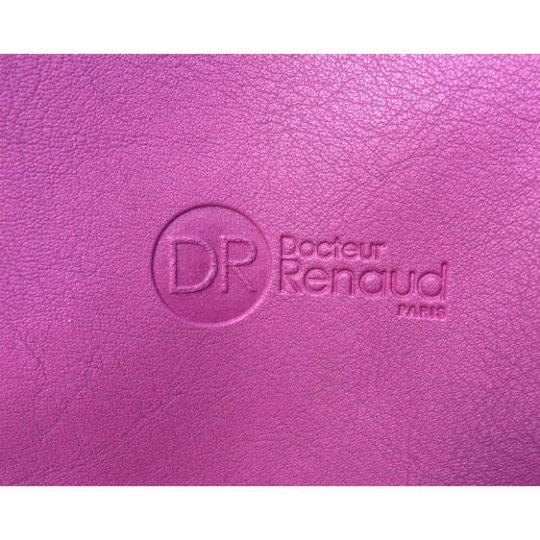 dr-renaud-purple-shoulder-bag-logo